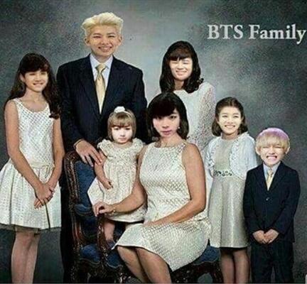 Fanfic / Fanfiction Família Crack- BTS