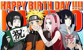 Fanfic / Fanfiction Feliz Aniversário Naruto-kun!