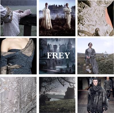Fanfic / Fanfiction Game of Thrones: O Legado de Frey