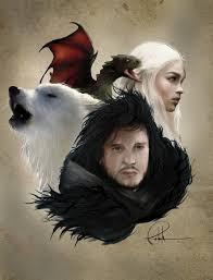 Fanfic / Fanfiction Game Of Thrones: O Lobo e O Dragao