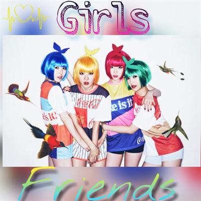 Fanfic / Fanfiction Girls Friends -Interativa