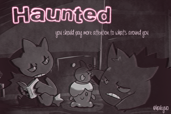 Fanfic / Fanfiction Haunted