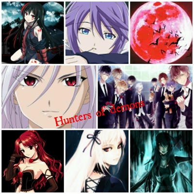 Fanfic / Fanfiction Hunters of Demons - Interativa