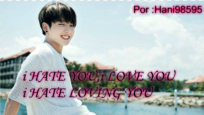 Fanfic / Fanfiction I hate you, I love you, I hate loving you