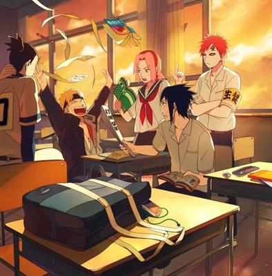 Fanfic / Fanfiction Konoha Elite School