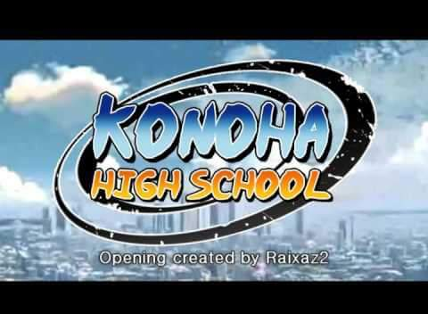 Fanfic / Fanfiction Konoha School