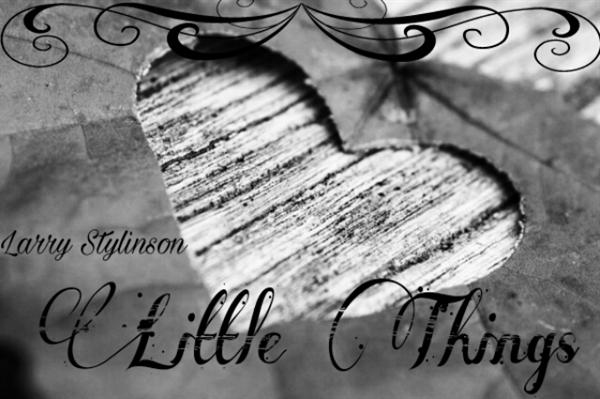 Fanfic / Fanfiction Little Things - Larry Stylinson