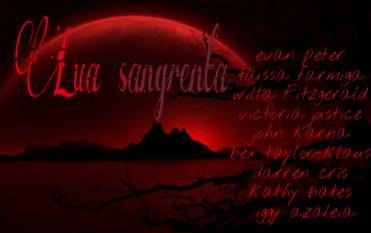 Fanfic / Fanfiction Lua sangrenta