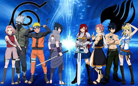 Fanfic / Fanfiction Magos e Shinobis - Fairy Tail e Naruto - Interativa
