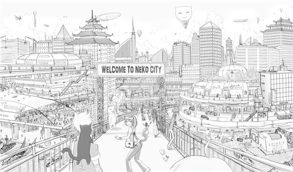 Fanfic / Fanfiction Neko world