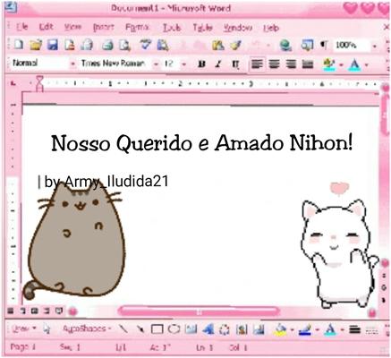 Fanfic / Fanfiction Nosso Querido e Amado Nihon!(Hiatus)