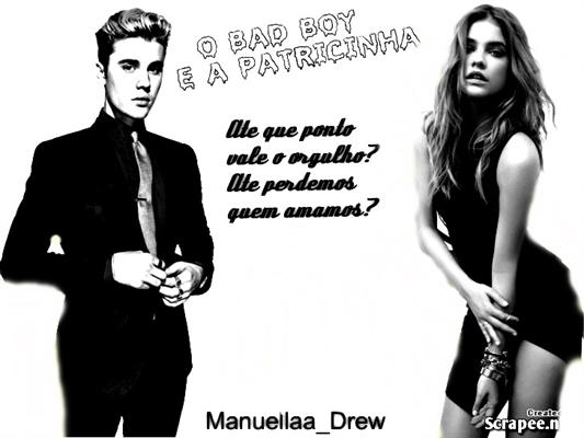 Fanfic / Fanfiction O Bad Boy e a Patricinha