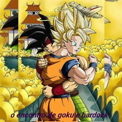 Fanfic / Fanfiction O encontro de Goku e Bardock