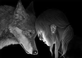 Fanfic / Fanfiction O lobo e a humana