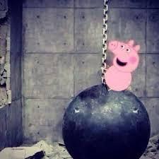 Fanfic / Fanfiction Peppa, a porquinha prostituta.
