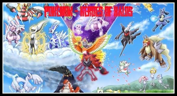 Fanfic / Fanfiction Pokémon - Heroes of Kalos - Interativa