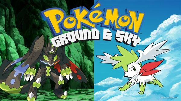 Fanfic / Fanfiction Pokémon A Série: Ground and Sky