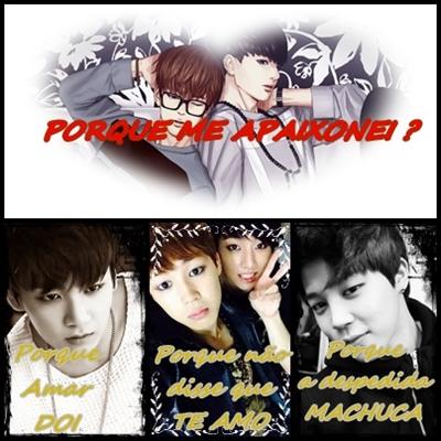 Fanfic / Fanfiction Porque me apaixonei (Jikook)(Vhope)(Namjin)