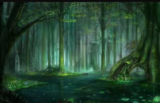 Fanfic / Fanfiction Presos na floresta