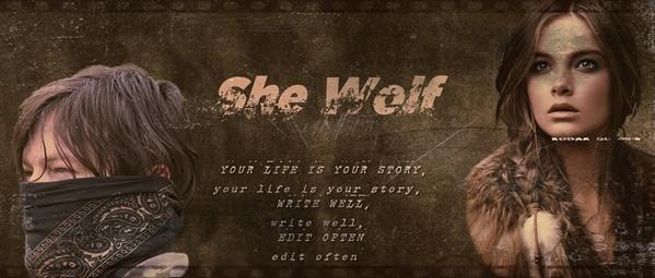 Fanfic / Fanfiction She Wolf