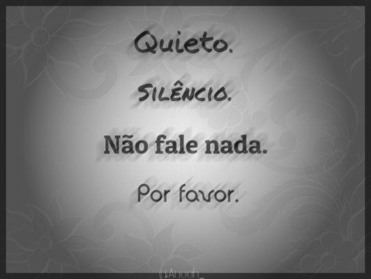 Fanfic / Fanfiction Silence...