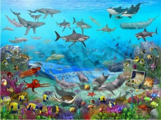Fanfic / Fanfiction Um mundo magico embaixo d'água