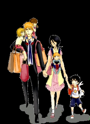 Fanfic / Fanfiction Uma familia de shinigami