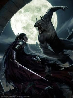 Fanfic / Fanfiction Vampiros vs Lobisomens - Amor vs Ódio