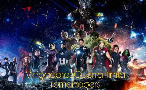 Fanfic / Fanfiction Vingadores:Guerra Ifinita-romanogers
