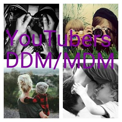 Fanfic / Fanfiction Youtubers DDM/MDM