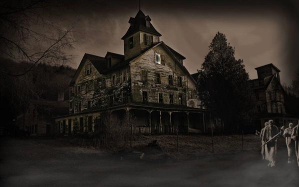 Fanfic / Fanfiction A casa assombrada