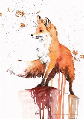 Fanfic / Fanfiction A raposa e o lobisomem