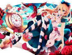 Fanfic / Fanfiction Alice presa nas maravilhas