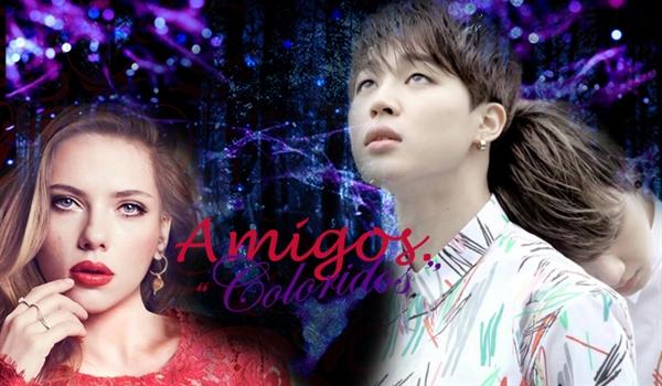 "Fanfic / Fanfiction Amigos.""Coloridos"" -(Em Rev.)Imagine JungKook e Jimin-"
