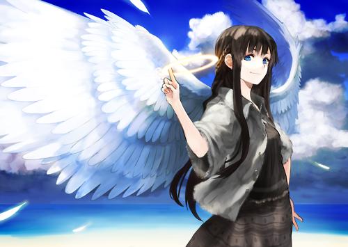 Fanfic / Fanfiction Amor de Anjo