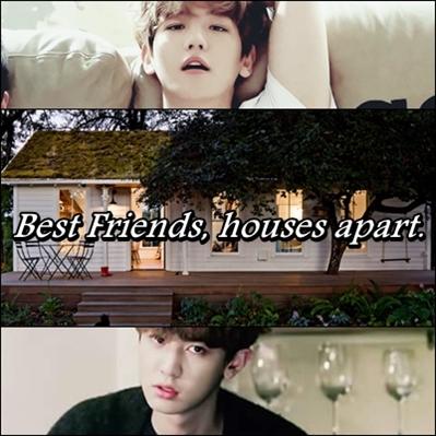 Fanfic / Fanfiction Best Friends, houses apart