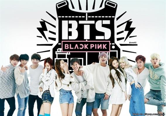 Fanfic / Fanfiction BlackPink And BTS