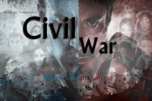 Fanfic / Fanfiction Civil War - Interativa