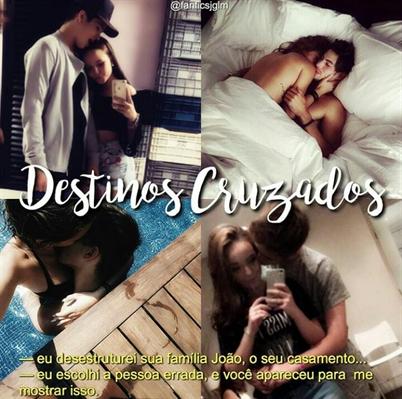 Fanfic / Fanfiction Destinos cruzados ✈