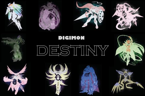 Fanfic / Fanfiction Digimon Destiny