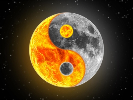 Fanfic / Fanfiction Entre o Sol e a Lua