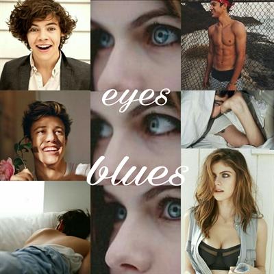Fanfic / Fanfiction Eyes Blues