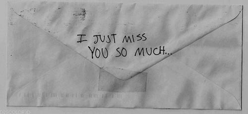Fanfic / Fanfiction I Miss You (oneshot)