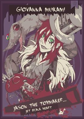 Fanfic / Fanfiction Jason The ToyMaker: Jet Black Heart