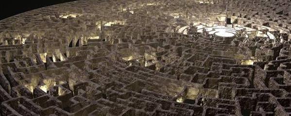 Fanfic / Fanfiction Desafio do Labirinto (Interativa)