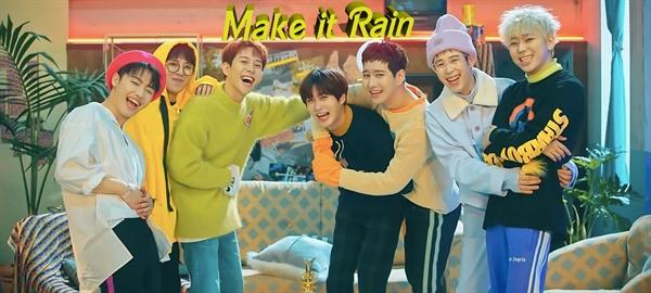 Fanfic / Fanfiction Make it rain. (Yaoi-Lemon-Threesome-Mpreg-ABO)