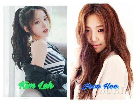 Fanfic / Fanfiction Meninas coreanas