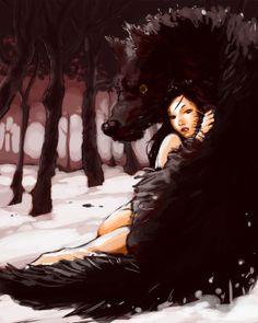 Fanfic / Fanfiction O Amor dos Lobos