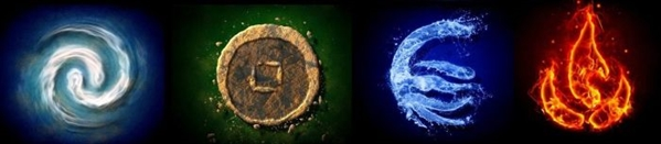 Fanfic / Fanfiction Os quatro elementos
