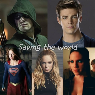 Fanfic / Fanfiction Saving the world